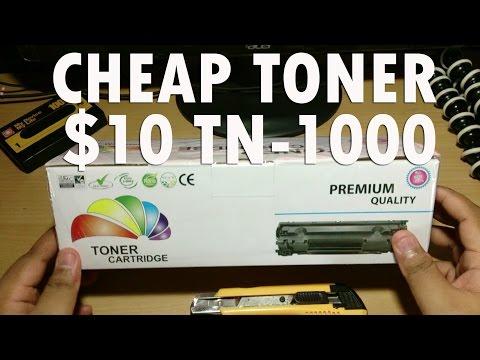 CBJP: A Cheap TN-1000 Toner
