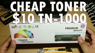 CBJP: A Cheap TN-1000 Toner