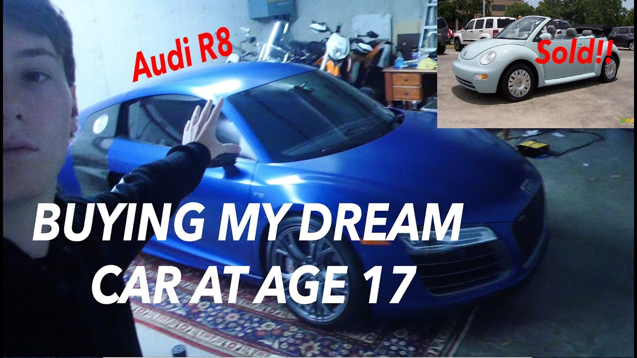 Buying My Dream Car At Age 17 Audi R8 Supercharged