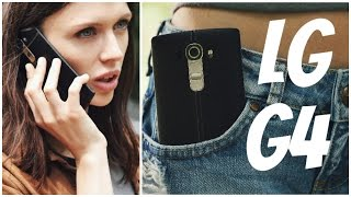LG G4: обзор смартфона (4К)(Цена и наличие: http://rozetka.com.ua/lg_g4_leather_black/p2793152/ Видеообзор LG G4 Смотреть обзоры других смартфонов: http://www.youtube.com/pl., 2015-06-11T13:15:30.000Z)