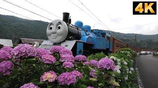 Steam Locomotive Thomas also came to Oigawa Railway./大井川鉄道 2019年6月22日,23日 きかんしゃトーマスがやってきた。