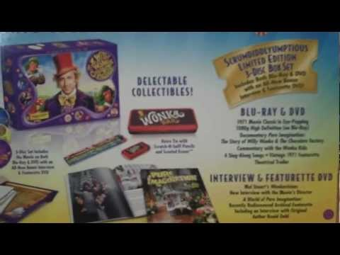 Willy Wonka & the Chocolate Factory 40th Anniversary Blu-ray Review, DoBlu.com