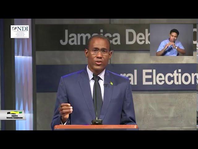 Election 2020: Dr. Nigel Clarke vs. Mark Golding Finance Debate Highlights| News | CVMTV