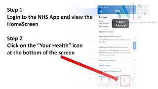 NHS App - Change Your Data Sharing Choices