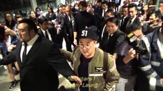 Rain(비) 鄭智薰Jung Ji Hoon (정지훈) Arrived Hong Kong Airport 20151203