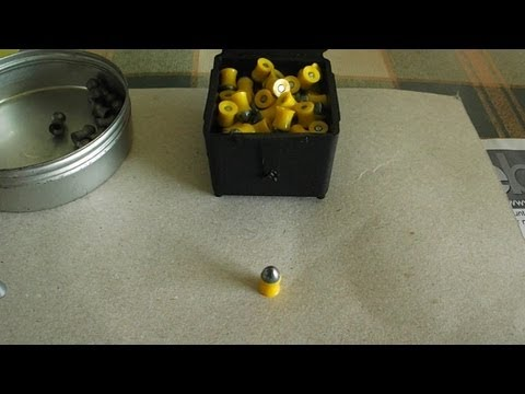 Testing Prometheus air rifle pellets