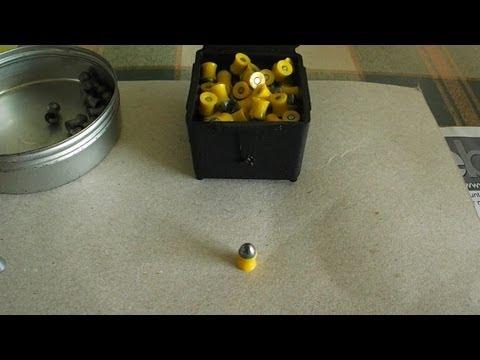 Testing Prometheus air rifle pellets