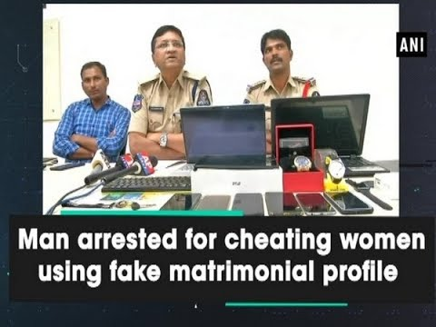 Man arrested for cheating women using fake matrimonial profile