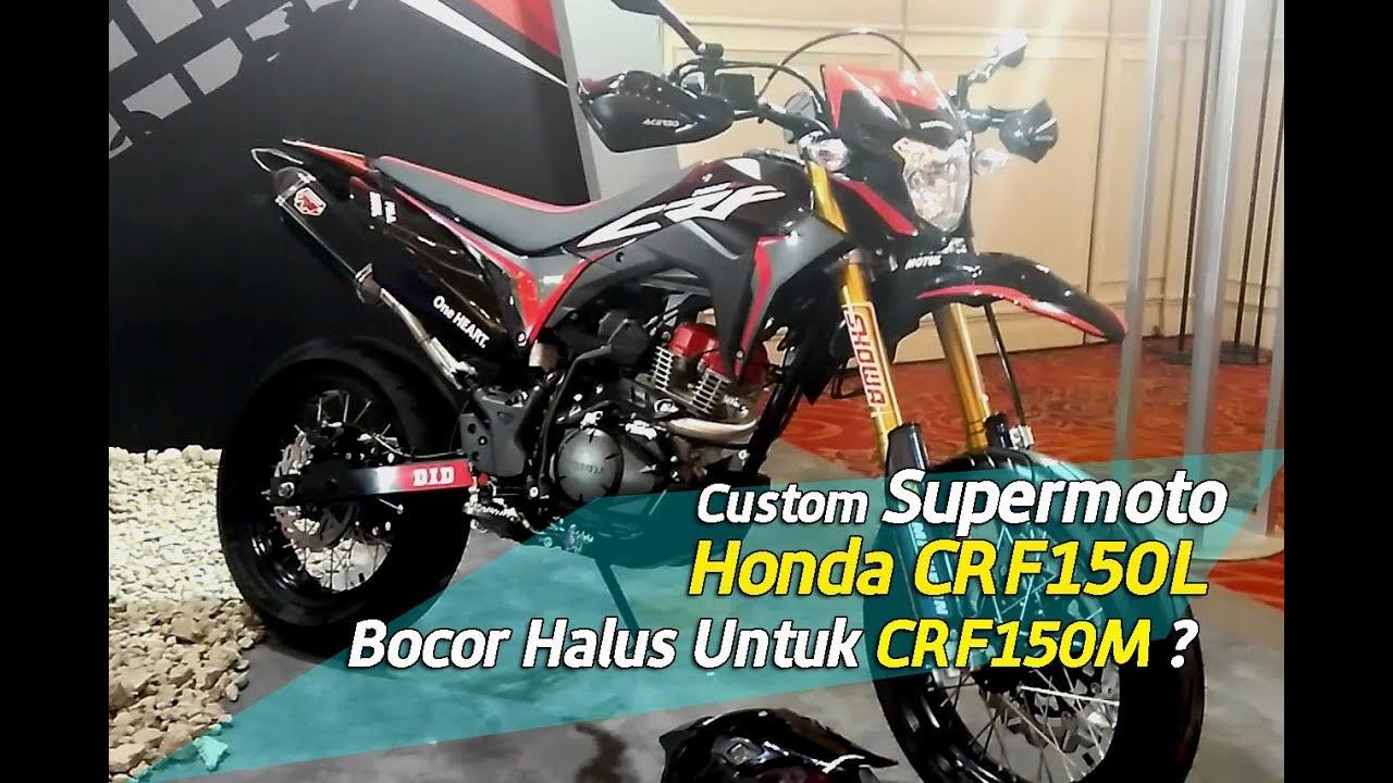 Supermoto Honda CRF150L YouTube