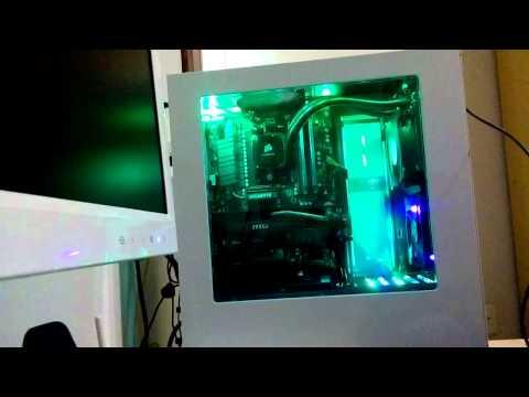 NZXT S340 - Projeto com luzes de LED