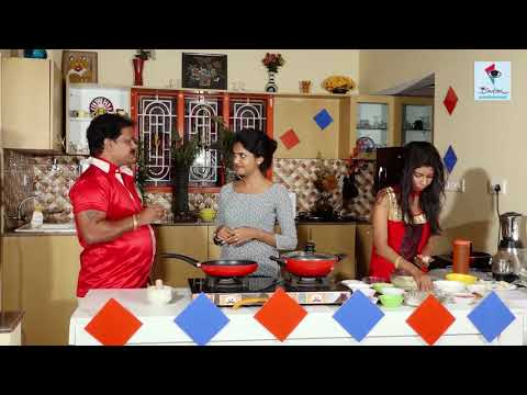Atilda Gammath Cooking By Famous Drama,Film Actor Sudhirraj Urwa  & His Daughter Gowthami