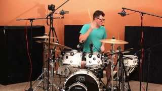 toya delazy - love is in the air (sidney joseph drum cover)