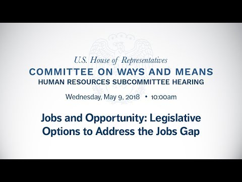 Jobs and Opportunity: Legislative  Options to Address the Jobs Gap
