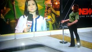 Patriotas dizem: Globo lixo! (Globonews) e como é ao vivo não tem como manipular...
