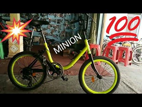 Bagusjayabike Sepeda Minion 20 Inc Youtube