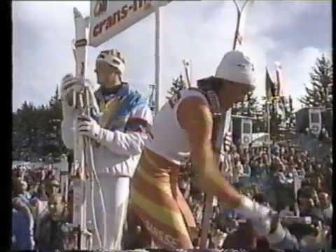 1987 FIS World Alpine Ski Championships - Women's Super Giant Slalom