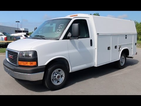 a206c679709561 2017 GMC Savana Commercial Cutaway KUV Utility Body By Knapheide at Wilson  County Motors Lebanon Tn