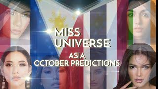Miss Universe 2019 Predictions | ASIA
