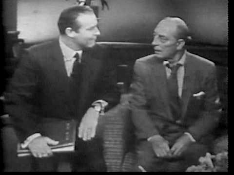 This Is Your Life, Buster Keaton  Part One  Ralph Edwards, Presenter
