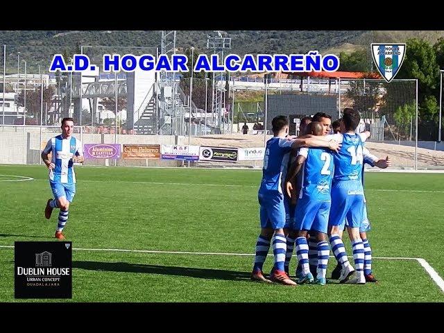 HOGAR ALCARREÑO 2 -1 TOLEDO B, GOLES DE ENRIQUE BATANERO ,  DUBLIN HOUSE