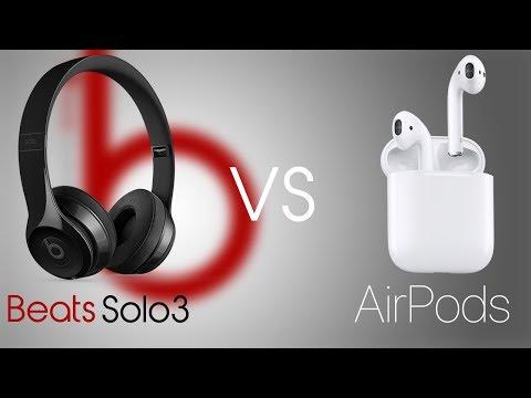 AirPods VS Beats Solo3 Comparison!