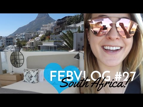 Arriving in CAPE TOWN! FebVlog 27