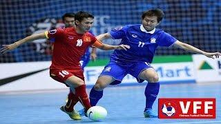 VCK Futsal Châu Á 2016: ĐT Việt Nam thua đậm Thái Lan