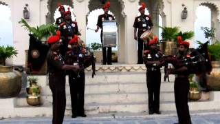 Bagpipe Band in India