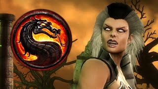 Mortal Kombat 9 -  Мама Китаны? ШОК!