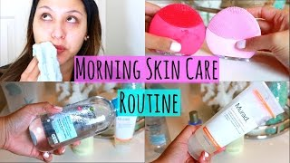 morning skincare routine for oily skin 2016