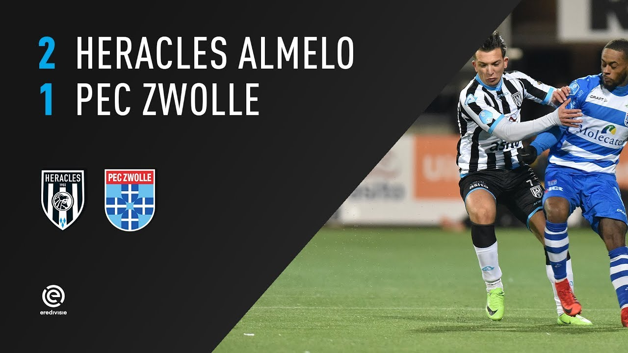 Heracles Almelo - PEC Zwolle 2-1 | 24-02-2018 | Samenvatting