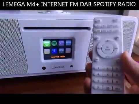 LEMEGA M4+ INTERNET FM DAB SPOTIFY RADIO ALL IN ONE - BEST INTERNET RADIO 2017