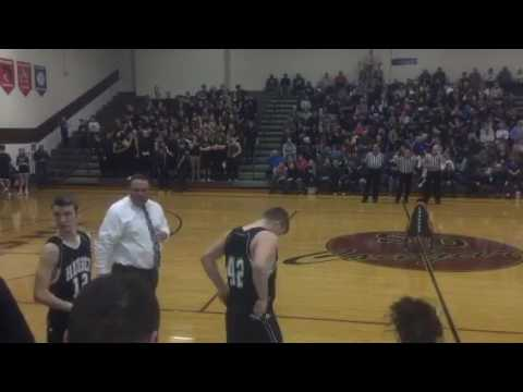 Sectional 60 Final Hauser vs Oldenburg Academy 3/4/17