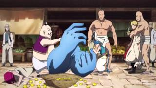 Aladdin summons Ugo for the first time [HQ]