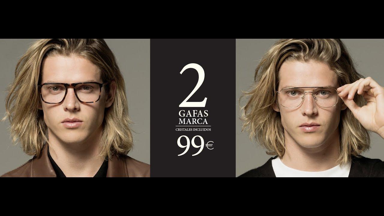 cdfe5c8848 2 Gafas de Marca por 99€ - Cristales incluidos | OPTICALIA, me gustan las  gafas