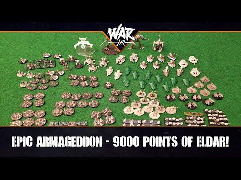 Epic Armageddon - 9000 Pnts of Eldar!! |