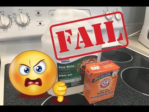 Natural Oven Cleaner Made With Vinegar And Baking Soda FAIL!
