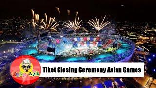 Download Video Daftar Harga Tiket Penutupan Asian Games 2018 MP3 3GP MP4