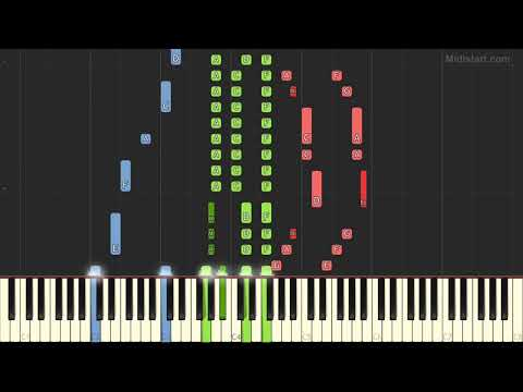 Billy Joel - Movin' Out (Piano Tutorial) [Synthesia]
