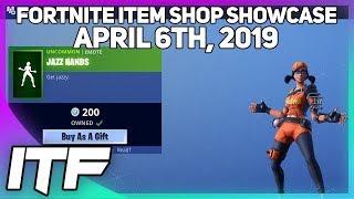 Fortnite Item Shop *NEW* JAZZ HANDS EMOTE! [April 6th, 2019] (…