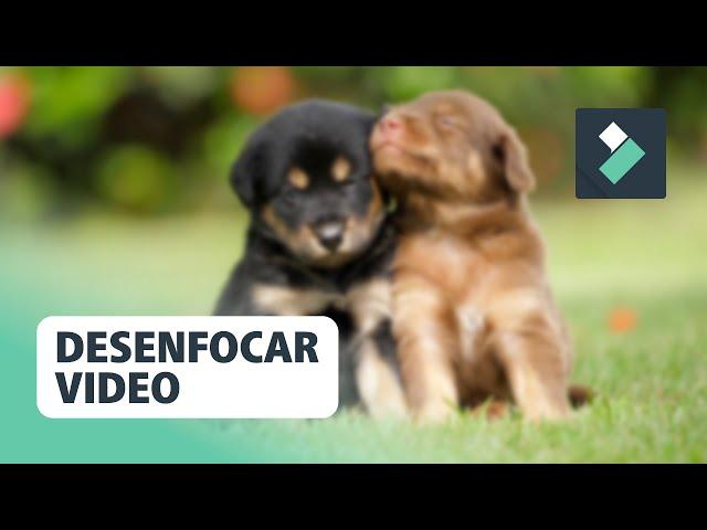 DESENFOCAR Vídeos en FILMORA 💙   Curso Filmora