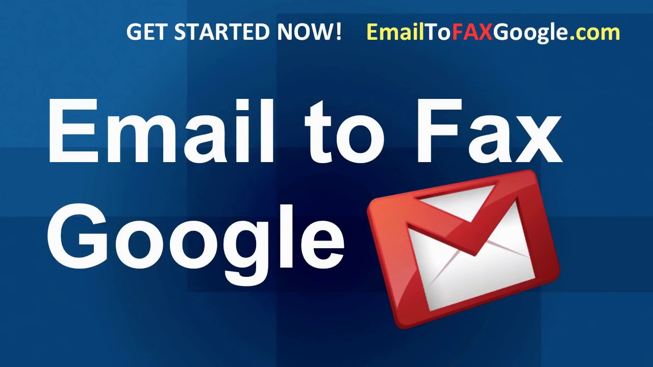 gmail fax and email to fax on google gmail youtube