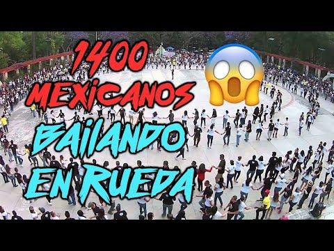 ¡1400 personas bailando rueda de casino en Mexico!