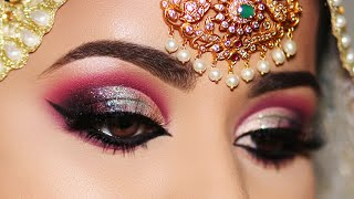 How to: INDIAN/ASIAN BRIDAL EYE MAKEUP TRANSFORMATION | STEP-BY-STEP TUTORIAL