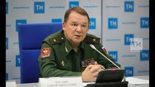 Пресс-конференция о Дне защитника Отечества, с участием военного комиссара РТ