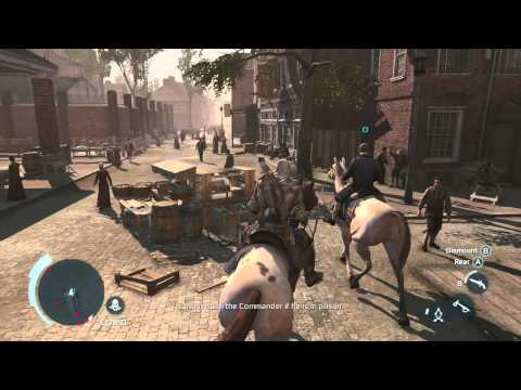 Assassin's Creed 3 Pt. 24- Pitcairn/ New York
