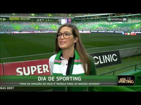 Joana Wagner na Sporting TV (19/12/2016)