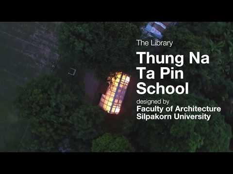The Library of Baan Thung Na Ta Pin School, Suphanburi, Thailand