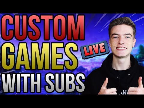 🔴CUSTOM GAMES/SCRIMS WITH SUBS!! COME AND JOIN IN! *LIVE*   CUSTOM MATCHMAKING   PS4 UK Fortnite