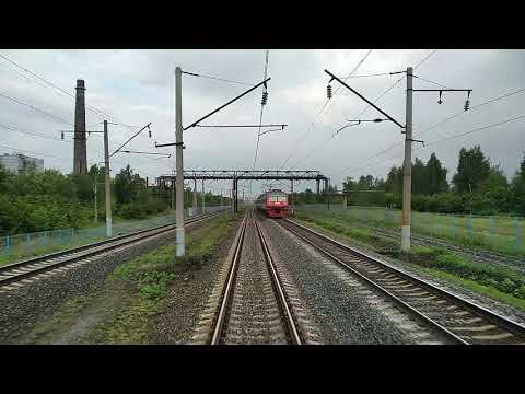 Дзержинск-Нижний Новгород Московский( из хвоста поезда). Поезд№236Г Москва-НН 20.07.2018